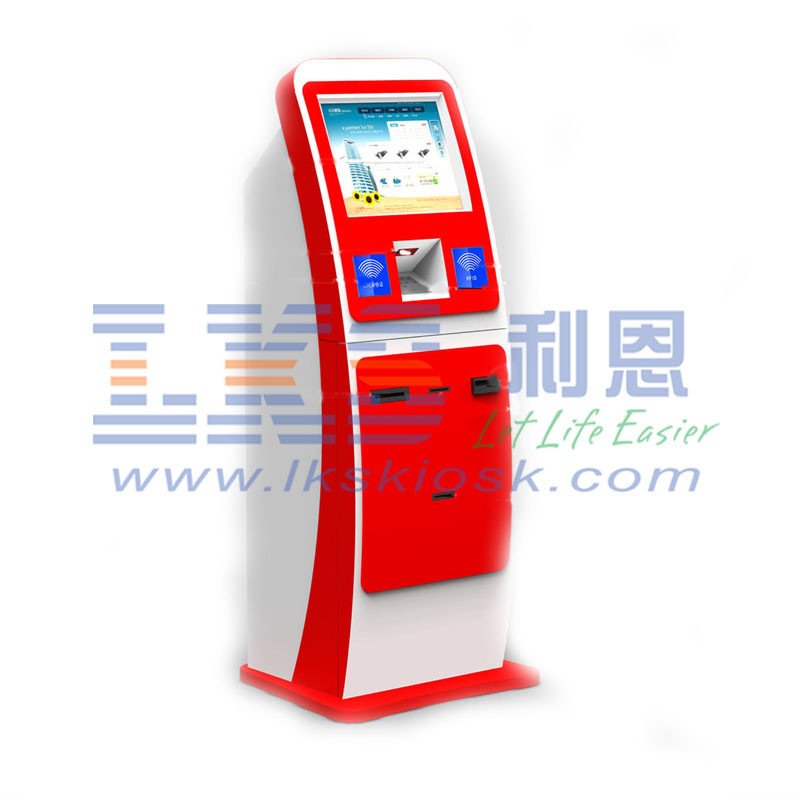 LKS Indoor Kiosk Cash Deposit Machine Payment Terminal Android / Linux / JOS