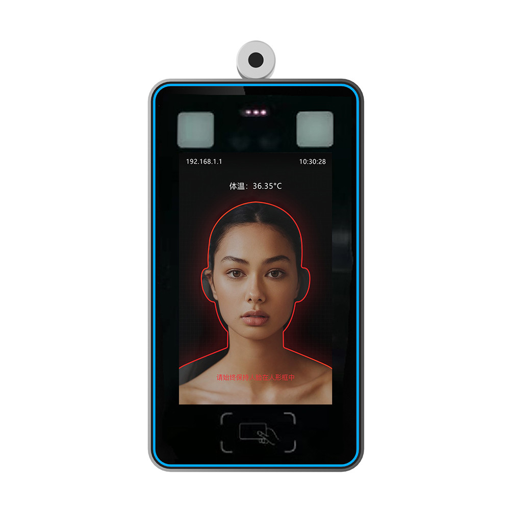 Electronic Face Recognition Thermometer Non Contact Infrared 800*1280 Display Resolution
