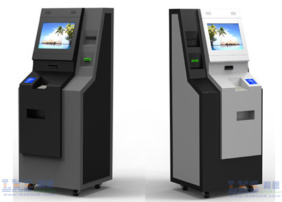 Professional Bill Payment All In One Kiosk With NFC Card Reader / Check in Kiosk