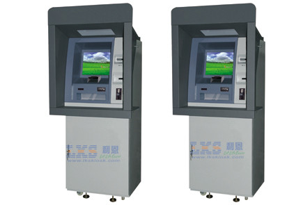 Customized Windows 7 ATM Money Machine Payment Terminal ATM Kiosk With Cash Dispenser