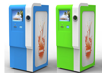 Costumer Self Service Recycling Kiosk Customized Size All-In-One Payment Kiosk