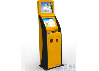 Ticket Vending Machine Card Issuing Machine Write Magnetic / IC / RFID Kiosk