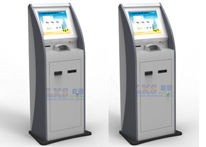 Automate Processing Self Service Kiosk Waterproof Standardize Screening