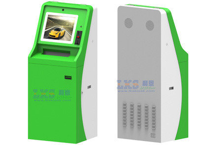 Digital Self Service Photo Printing Kiosk Passport Photo Wireles Internet Information Access