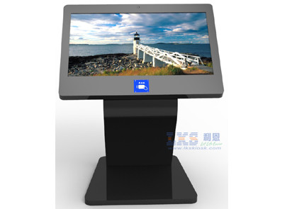 Free Standing 42 inch IR Touch Screen Information Kiosk For Shopping Mall