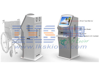 Hospital / Pharmacy Healthcare Kiosk Conform Europe MDD And USA FDCA Standard