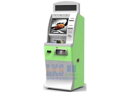 EPP Card Payment Self Service Kiosk Cash Withdrawl , PCI Certificated